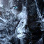 17-årig med amfetamin midt i røgen