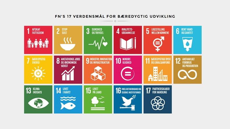 Foto: FN's 17 verdensmål