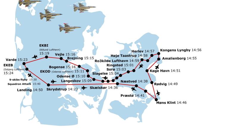 Grafik: Fighter Wing Skrydstrup