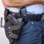 Uheldig mand tabte sin pistol på gaden